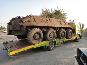 эвакуация застрявших танков николаев
