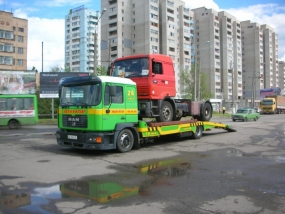 Эвакуация грузовиков и фур николаев